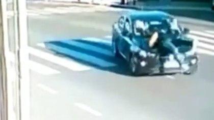 Accidente de tránsito en San Martín