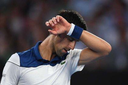 Novak Djokovic (EFE/ Lukas Coch)