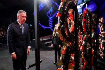 El presidente de Montenegro, Milo Djukanovic. Foto: Ronen Zvulun/REUTERS