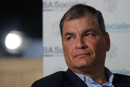 El ex presidente de Ecuador, Rafael Correa. Foto: EFE