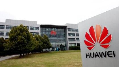 El cuartel general de Huawei en el Reino Unido, ubicado en la ciudad de Reading (REUTERS/Matthew Childs/Archivo)