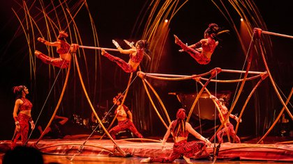 El espectáculo se presenta en Buenos Aires desde el 15 de marzo hasta el 15 de abrilen Costanera Sur (Cortesía: Cirque du Soleil)