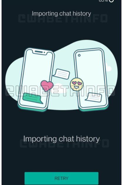 WhatsApp trabaja en una nueva herramienta para migrar chats entre iOS y Android (Foto: WABetaInfo)