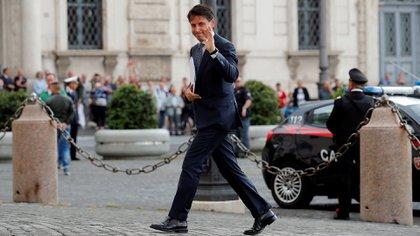 Giuseppe Conte fue nombrado primer ministro italiano (Reuters)