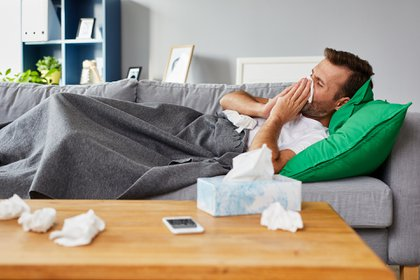 The highest percentage of infected people recover at home, so it is necessary to take precautions not to contribute to the spread of the virus (Shtterstock)
