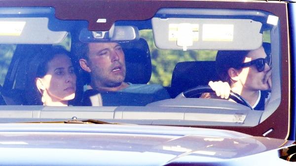 El 22 de agosto, la actriz Jennifer Garner internó a su ex marido Ben Affleck (Grosby Group)