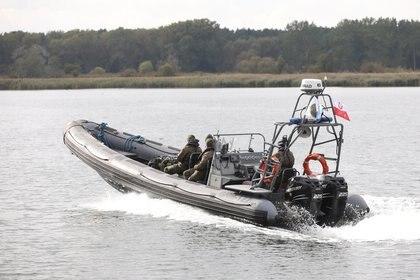 La bomba Tallboy fue hallada en Swinoujscie, Polonia y no pudo ser desactivada como pretendían los especialistas en explosivos (Reuters)