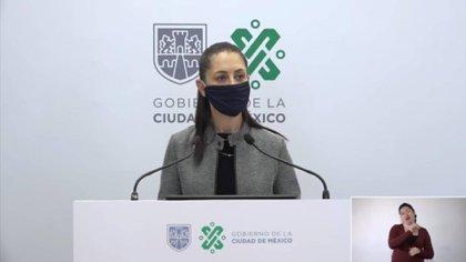 Claudia Sheinbaum Pardo, jefa de gobierno de la Ciudad de México señaló que 100,000 pruebas serán aplicadas en la capital (Foto: Captura de Pantalla)