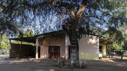 La casa natal del Chaqueño Palavecino en Rancho de Ñato. (Adrián Escandar)