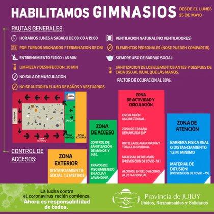Jujuy fue de las primeras provincias en comenzar a habilitar actividades