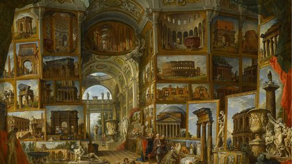"""La belleza del día: """"Roma antigua"""", de Giovanni Paolo Pannini"""