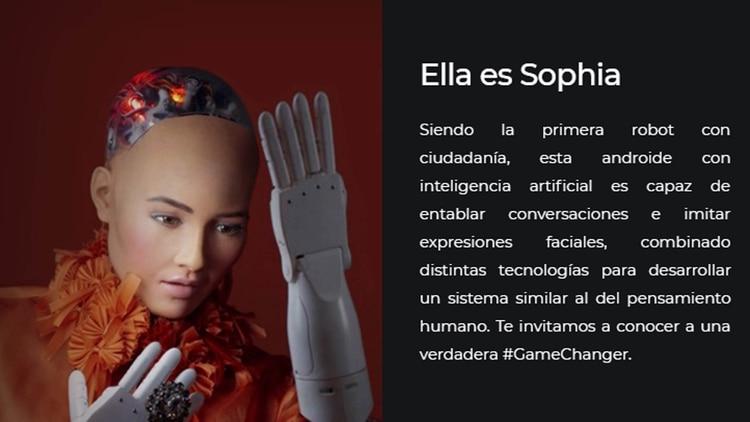 Resultado de imagen para sophia robot inteligencia artificial