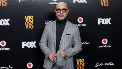 """Ramiro Blas en la premiere de la cuarta temporada de """"Vis a Vis"""" en 2018 (Crédito: Shutterstock)"""