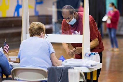 Las votaciones se han modificado debido a la pandemia (Foto: REUTERS/Rachel Wisniewski)
