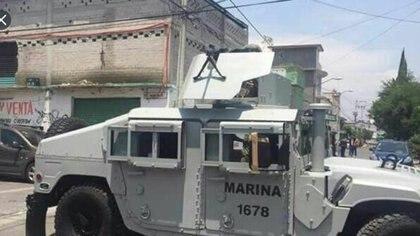 La Marina señaló que tuvo que responder a las agresiones. (Foto: Especial)