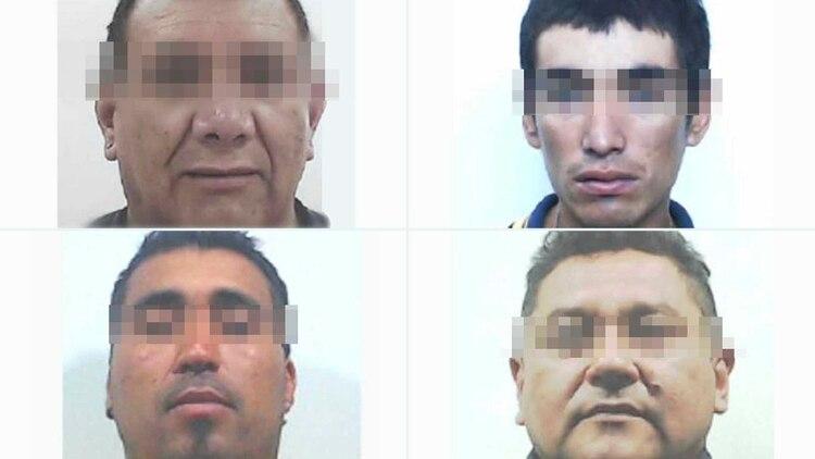 Daniel Alaniz, Dardo Orieta, Víctor Gerez, Walter González: cuatro detenidos de Tribuna Segura.