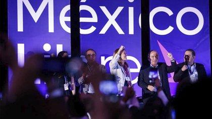 La organización de la ex pareja presidencial pretende participar para que Movimiento de Regeneración Nacional (Morena), partido en el poder, no obtenga una mayoría legislativa (Foto: Facebook@MexLibre)