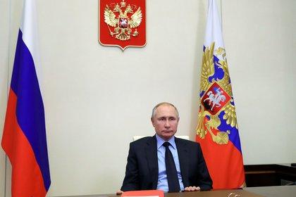 Sputnik/Mikhail Klimentyev/Kremlin vía REUTERS