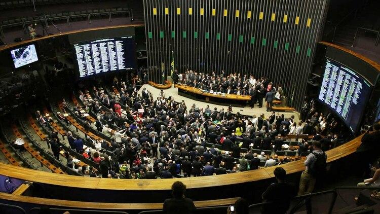 El Senado de Brasil (AP)