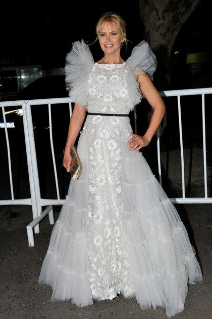 Valeria Mazza  fue una de las más elegantes de la gala