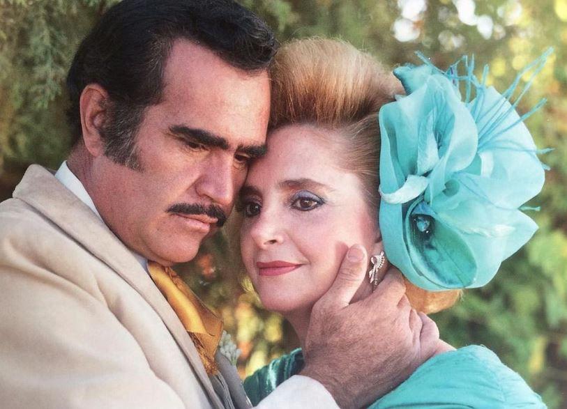 Vicente Fernández y Doña Cuquita