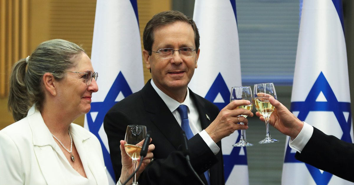 Biden congratulated Isaac Herzog on his appointment as President of Israel and highlighted his commitment to security