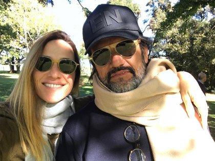 Lara Bernasconi y Federico Álvarez Castillo
