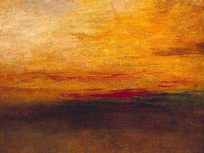 """""""Crepúsculo"""", de J. M. W. Turner (1835)."""