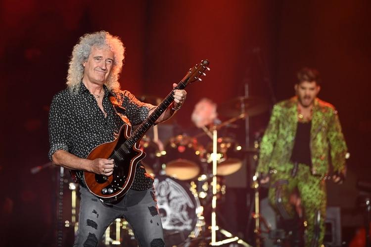 El veterano guitarrista de Queen Brian May. EFE/EPA/JOEL CARRETT/Archivo