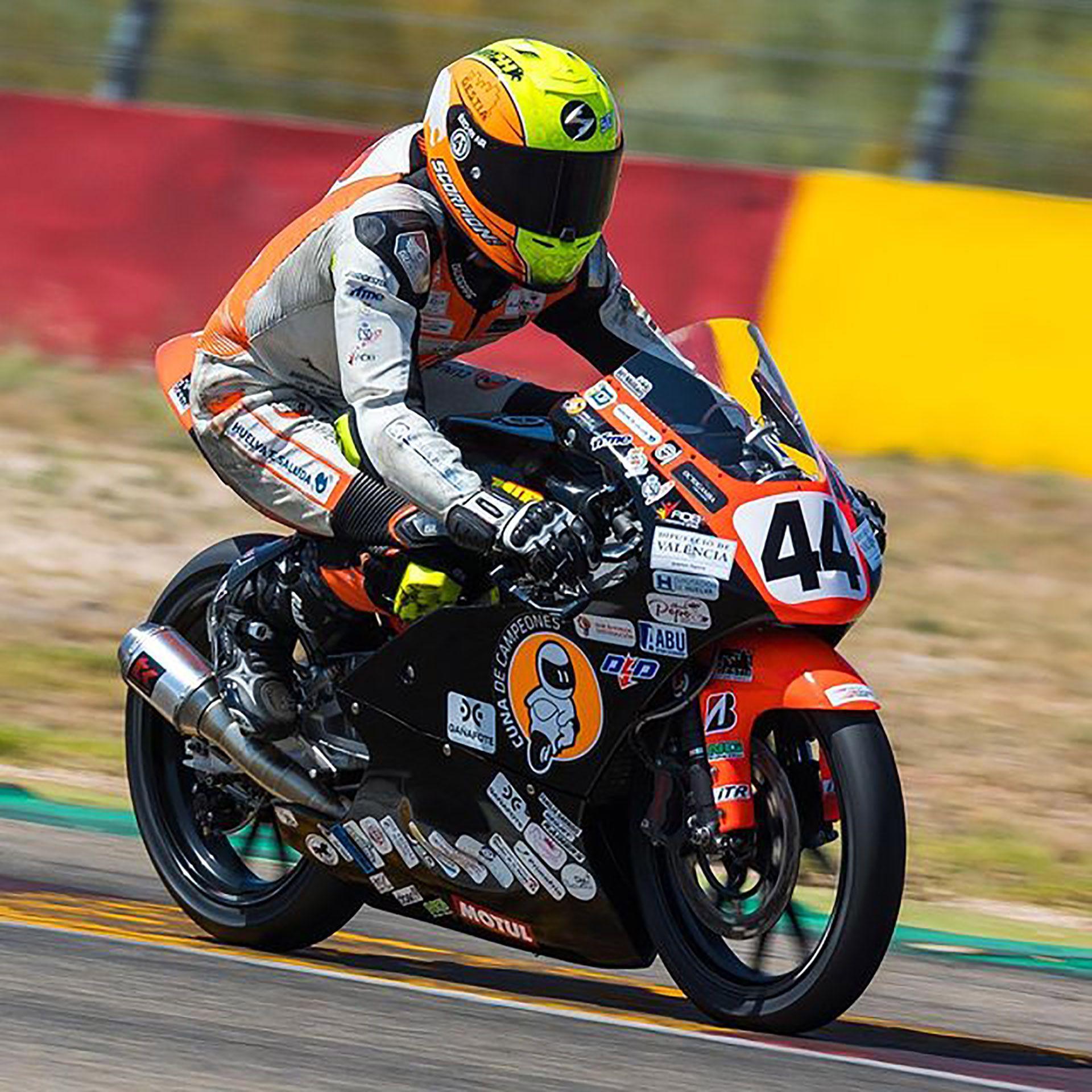 Hugo Millan Gracia Motociclismo