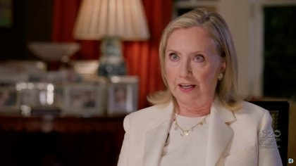 Hillary Clinton habla en la Convención Nacional Demócrata. Foto: 2020 Democratic National Convention/via REUTERS