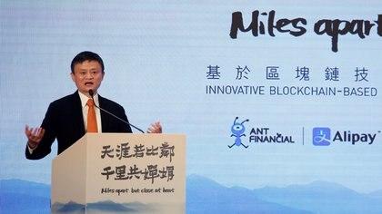 El fundador de Alibaba Jack Ma (REUTERS/Bobby Yip/archivo)