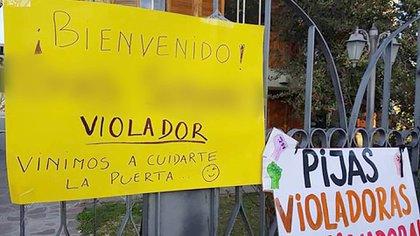 """El dictamen del fiscal sobre el """"desahogo sexual"""" generó repudio en Chubut."""