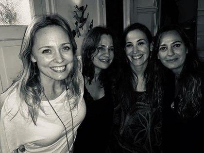 Betina O'Connell, Nancy Dupláa, Malena Solda y Claudia de la Calle (Instagram)
