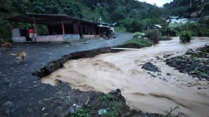 Emergencia invernal: siete municipios de Antioquia en alerta roja por derrumbes e inundaciones