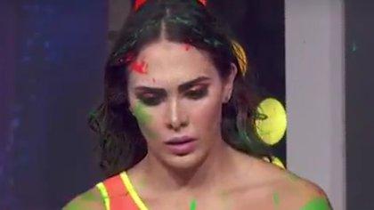 """Escándalo en """"Las Estrellas Bailan en Hoy"""": Macky estalló en vivo por nalgada de Tinieblas Jr."""