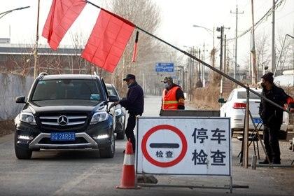 Controles entre Beijing y la provincia de Hebei (Reuters)