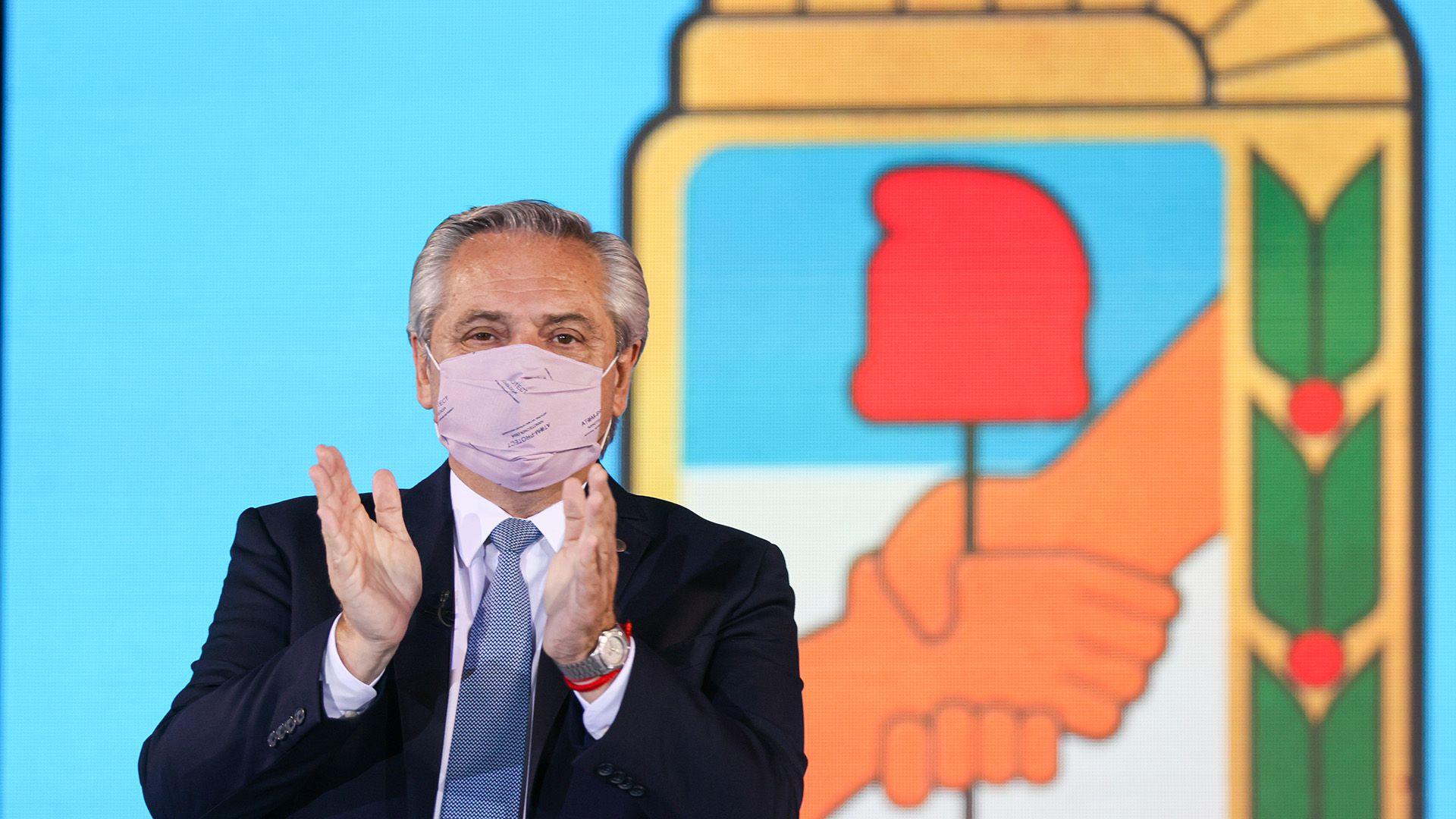 Alberto Fernandez acto asuncion presidencia del PJ