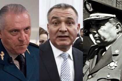 Salvador Cienfuegos, Genaro García Luna y Arturo Durazo adquirieron propiedades lujosas y bienes cuantiosos (Foto: Cuartoscuro)
