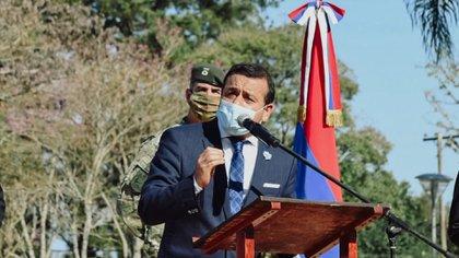 El gobernador de Misiones, Oscar Herrera Ahuad, es el segundo en adelantar las elecciones (@herrerayflia)