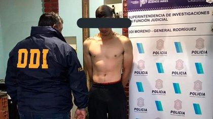 Los sospechosos tienen 20 y 24 años y además del robo a Brenda Gutiérrez se les imputó otro hecho