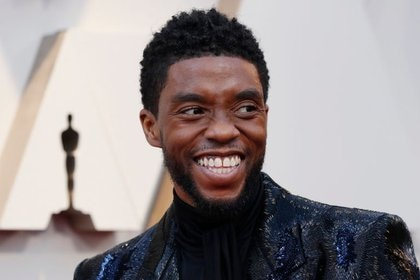 Chadwick Boseman died of cancer at age 43 (Reuters)