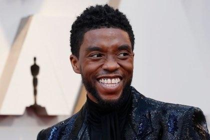 """El actor Chadwick Boseman de """"Pantera Negra"""", podría lograr un Oscar póstumo a Mejor Actor (Foto: REUTERS/Mario Anzuoni/Archivo)"""