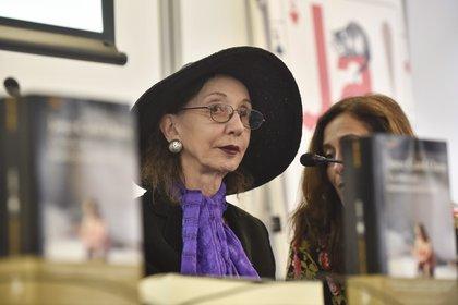 La escritora estadounidense Joyce Carol Oates. EFE/Miguel To�a/ Archivo