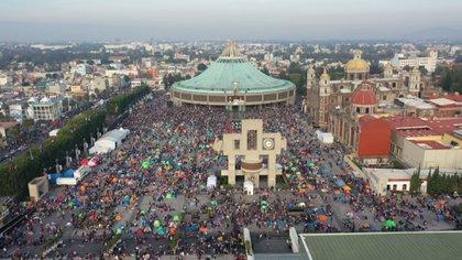 La basílica de Guadalupe, en la Ciudad de México, sólo permitirá el 5% de aforo (Foto: Archivo)