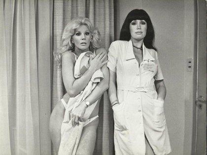 Susana y Moria participaron de varias películas picarezcas