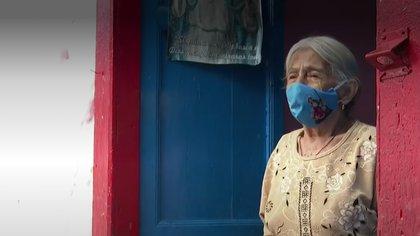 Carmen Rosa Rojas tiene 103 años y fue enfermera del hospital San Vicente Fundación.