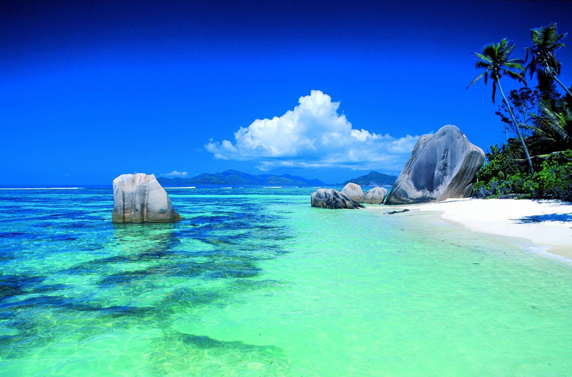 El océano Índico es reconocido por sus aguas cristalinas