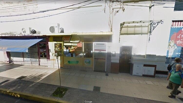 Agencia de la ciudad de San Luis donde se jugó la boleta