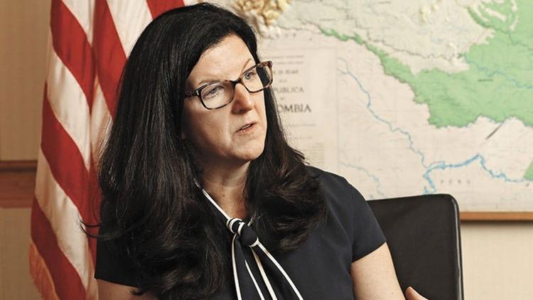 Kimberly Breier, secretaria de Estado adjunta de de los EEUU